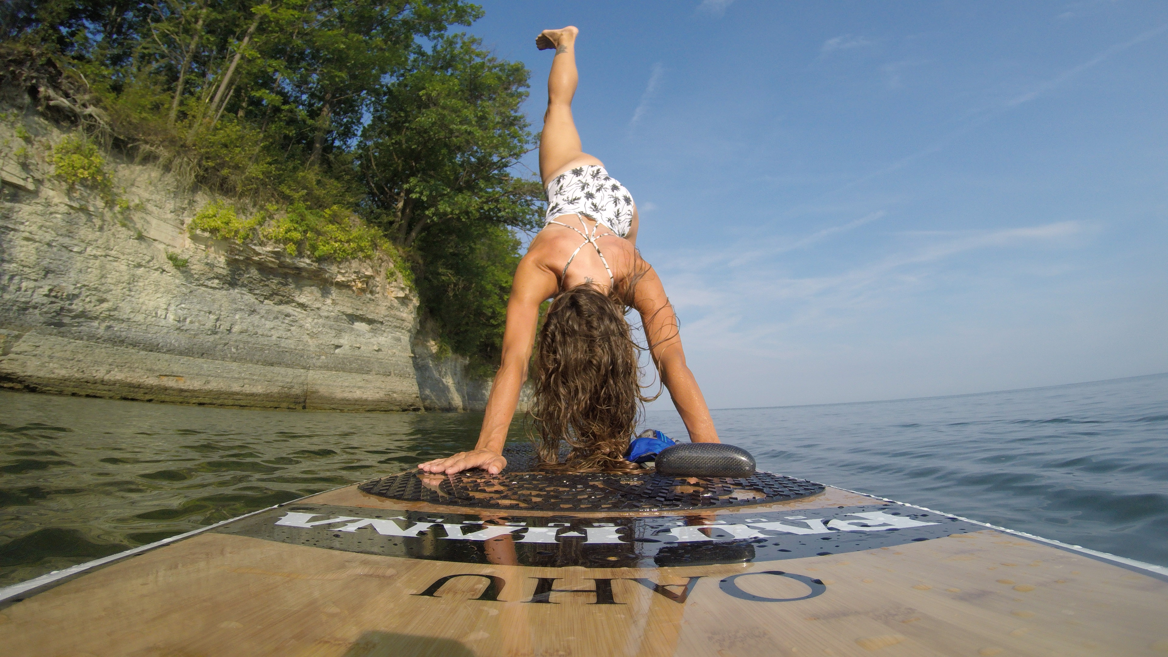 Yoga Poses on a SUP